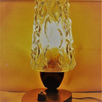 Open Plaats - vintage tweedehands lamp in de kringloopwinkel gent en destelbergen