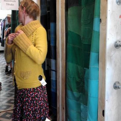 Open Plaats - pashokjes met upcycle gordijnen