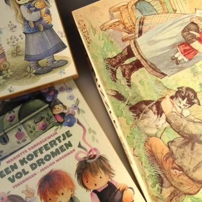Open Plaats - retro boeken en puzzels van Jaklien Moerman en Jetses in de kringloopwinkel