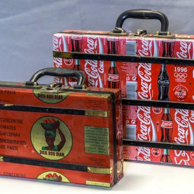 Open Plaats - vintage tweedehands koffer in de kringloopwinkel gent en destelbergen