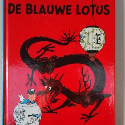 Open Plaats - Kuifje De Rode Lotus in de kringloopwinkel
