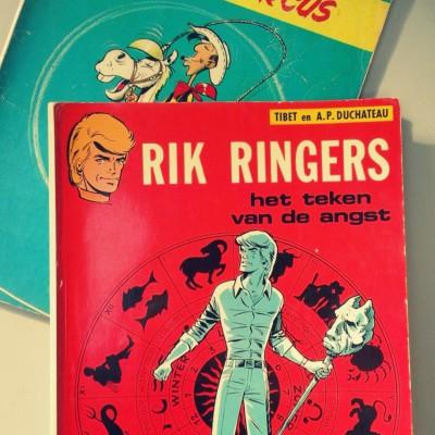 Open Plaats - Vintage strips in de kringloopwinkel