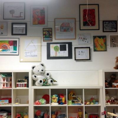 Open Plaats - reclage kunst bij het tweedehands speelgoed