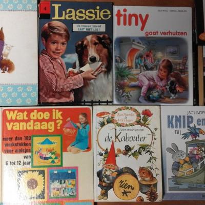 Open Plaats - retro kinderboeken in de kringloopwinkel