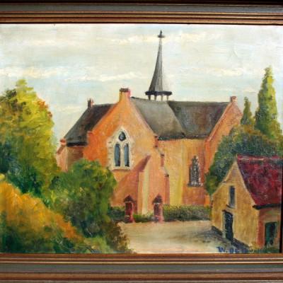 Open Plaats - Dag van De Kringwinkel: schilderijen op zolder