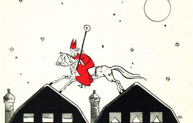 Open Plaats SInterklaas springt over de daken