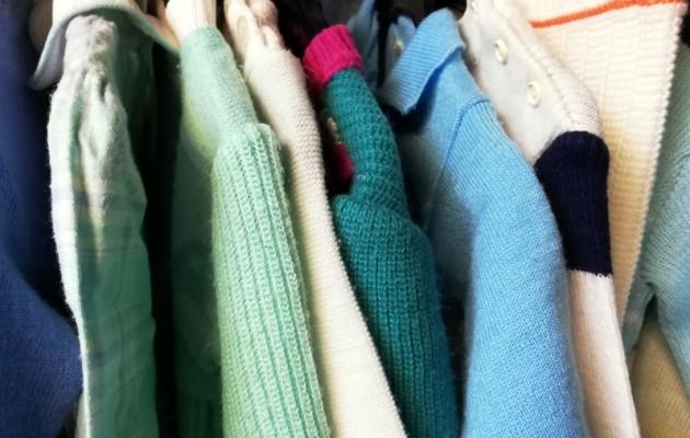 Open Plaats retro kleding mode in pastel kleuren