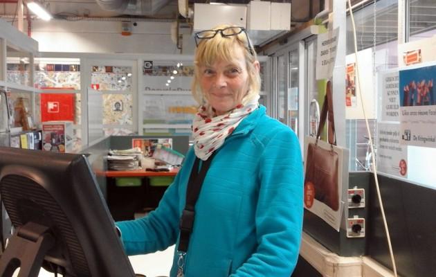 Open Plaats Werken aan de kassa bij De Kringwinkel
