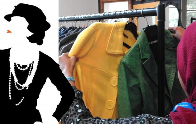 Open Plaats Designer fashion en merkkleren inde kringloopwinkel